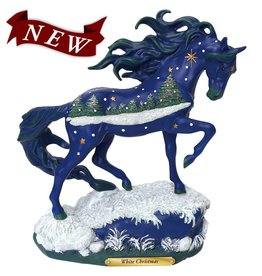 TRAIL OF PAINTED PONIES Trail of Painted Ponies White Christmas Figurine