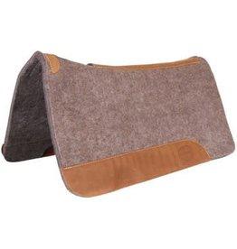 Mustang Contoured Wool Felt Pad