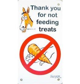 Fergus Sign-No Treats