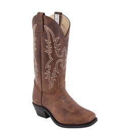 CANADA WEST Canada West Ladies' Western Square Toe Boot Alamo Tan