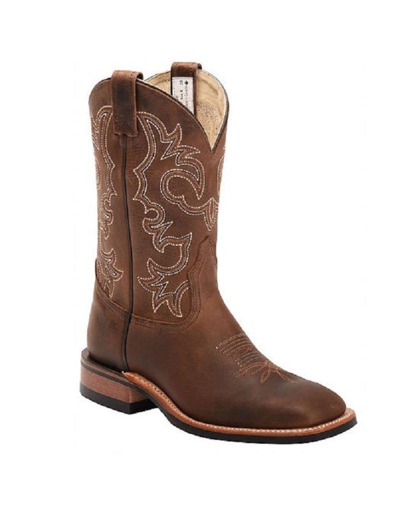 CANADA WEST Brahma Men's Roper Boot Alamo Tan