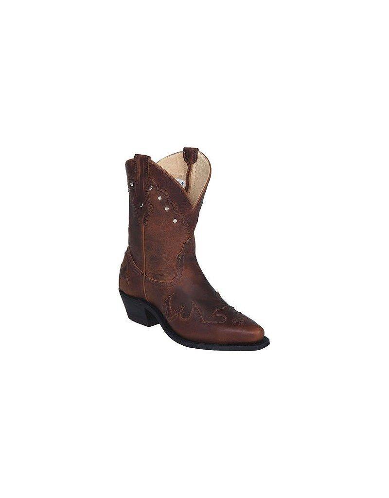 CANADA WEST Canada West Ladies' Western Pointed Toe Boot - Tobacco Kodiak