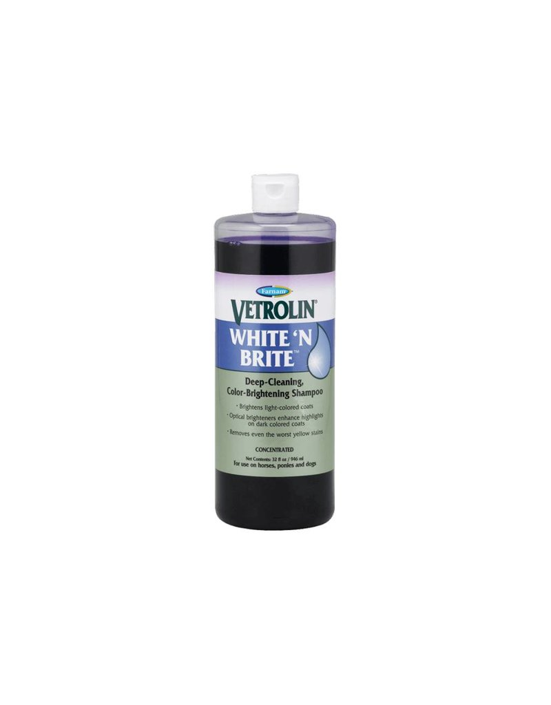 Farnam Vetrolin White 'N Brite Shampoo 946mL