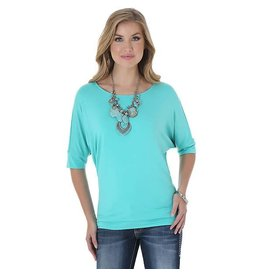 WRANGLER Wrangler Ladies' Tunic Top - Turquoise