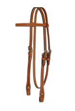 Country Legend Basket Weave Headstall Golden