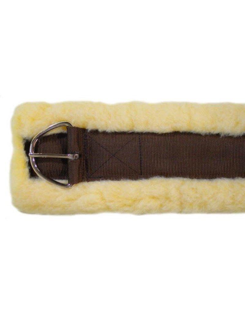Fleece & Nylon Cinch - Brown