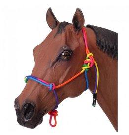 Multi Coloured Rope Halter