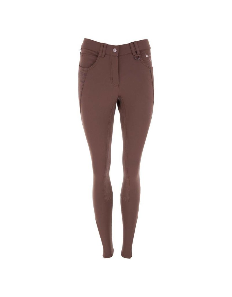 BR EQUESTRIAN BR Magda Full Seat Breech - Taupe