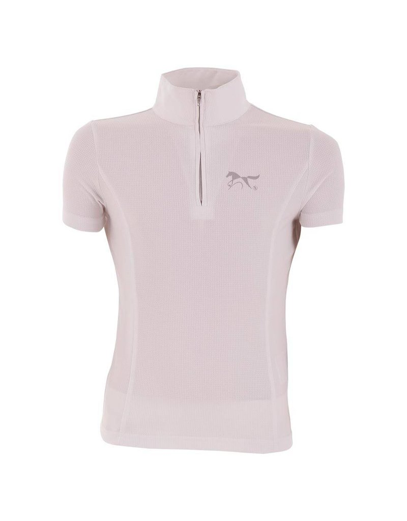 BR EQUESTRIAN BR Youth Show Shirt- White