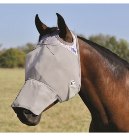 CASHEL Cashel Fly Mask with Long Nose Grey