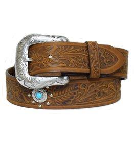 Justin Boot Squaw Creek Ladies' Belt - Brown