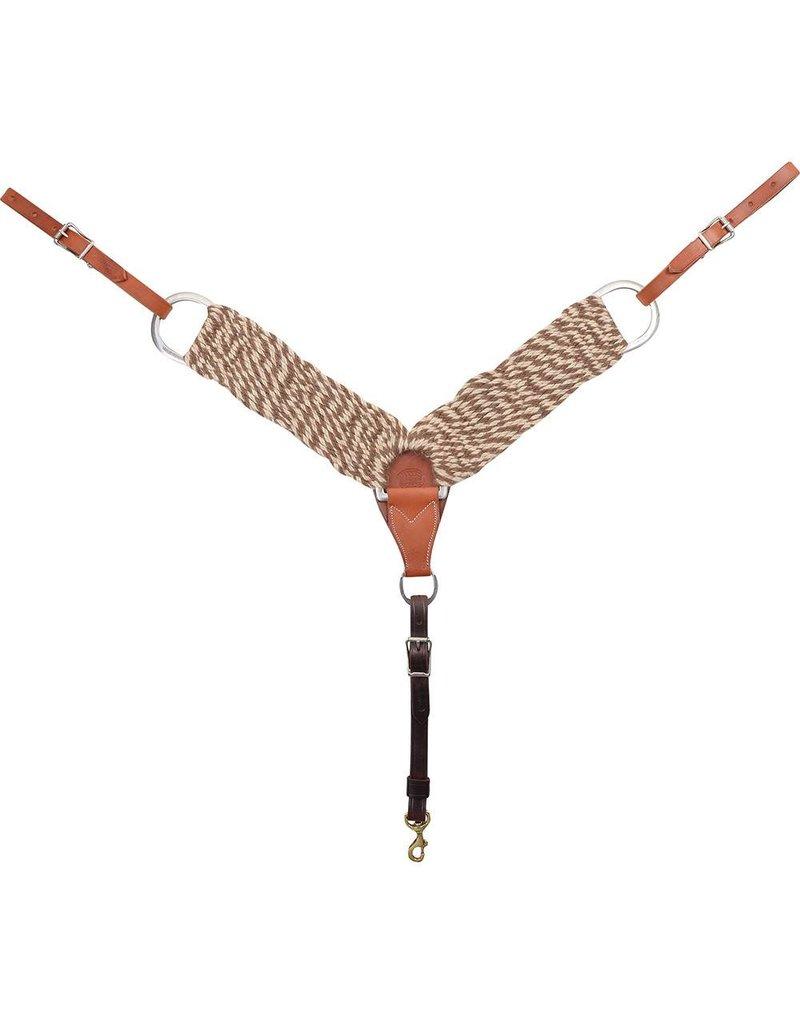 "MARTIN SADDLERY Mohair/Alpaca Breast Collar 3"""