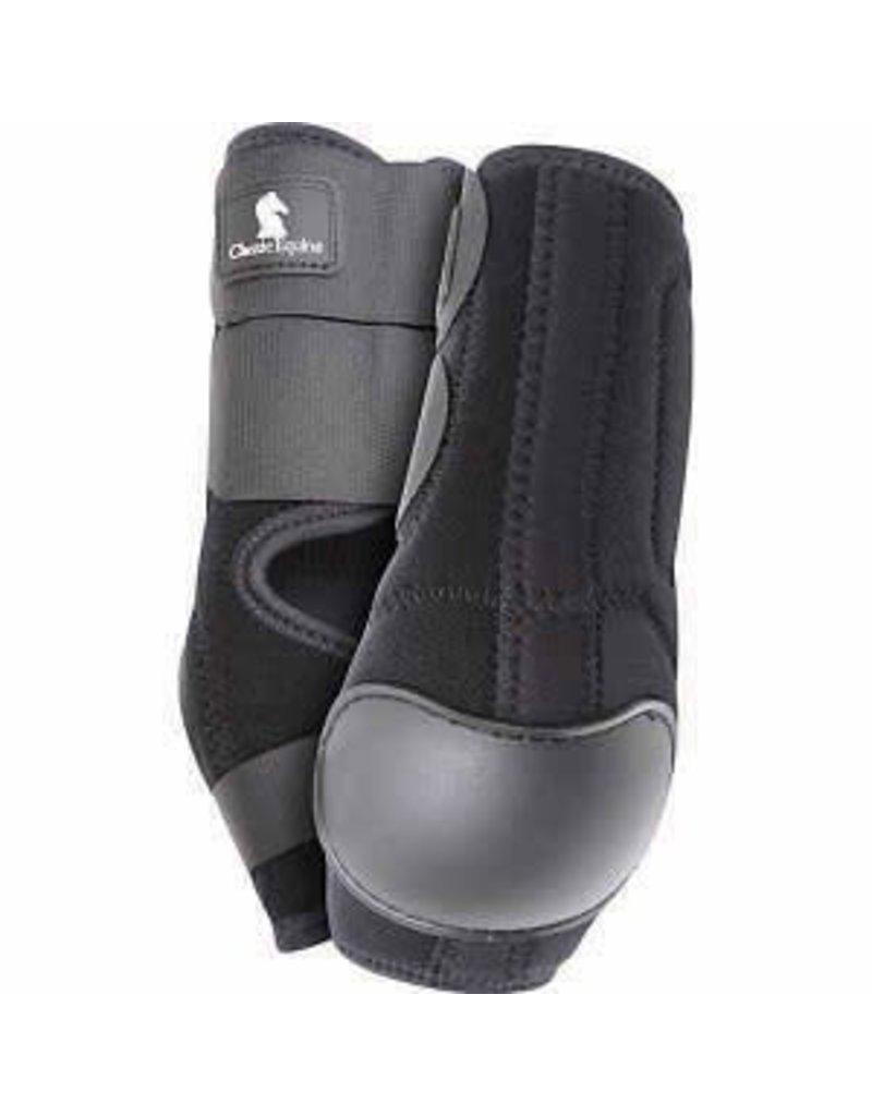 CLASSIC EQUINE Neoprene Skid Boot Hinds-Black
