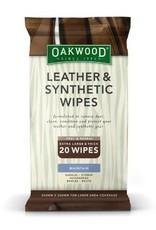 OAKWOOD 20 Oakwood Leather & Synthetic Wipes