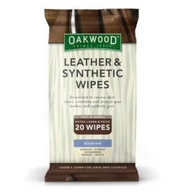 OAKWOOD Oakwood Leather & Synthetic Wipes
