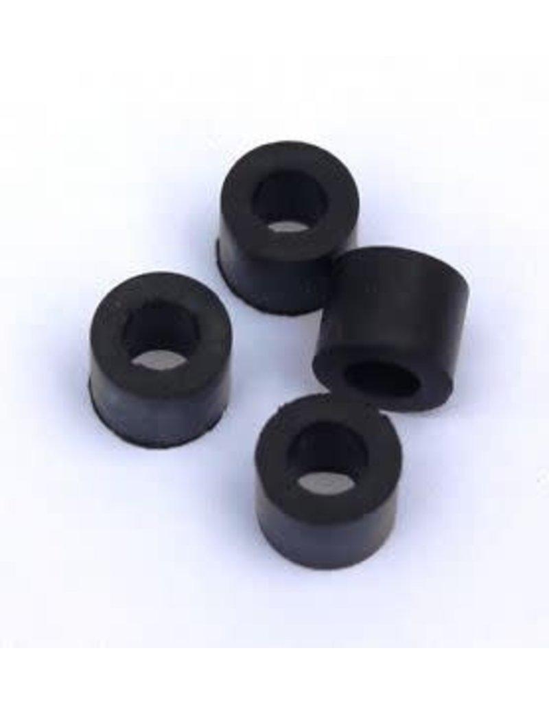 Rubber T Hook Fasteners 4pk