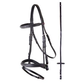 Premiere Nancy Combo Bridle in Black- Full
