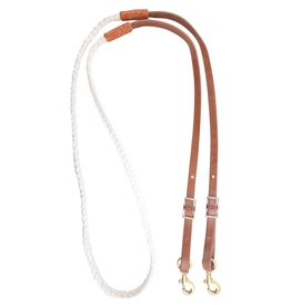 MARTIN SADDLERY Hand Braided Nylon Roping Rein