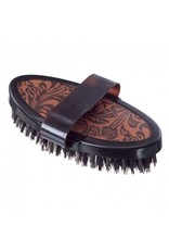 JT INTERNATIONAL Leather Print Finishing Brush