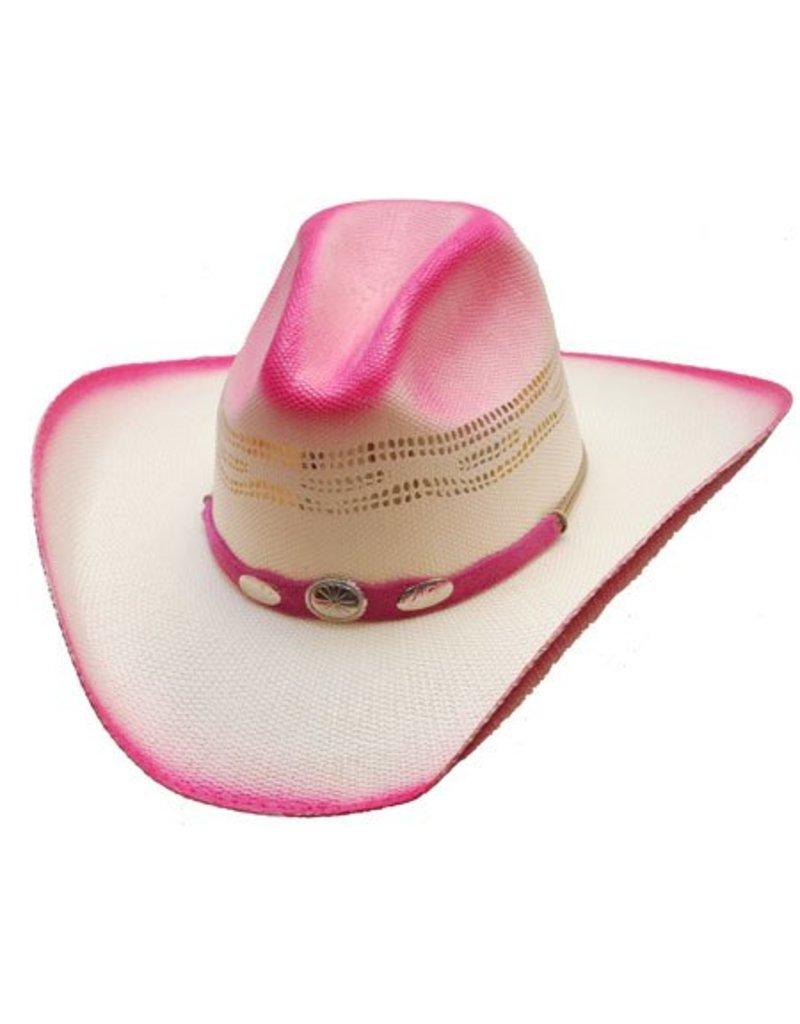 WESTERN EXPRESS Georgia Straw Cowboy Hat