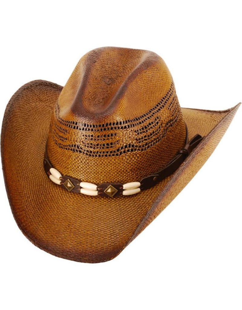 WESTERN EXPRESS Brockway Straw Cowboy Hat