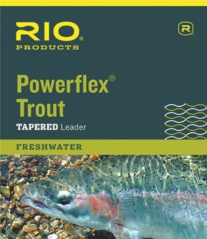 Rio Rio Powerflex Trout Tapered Nylon Leaders (3pk)