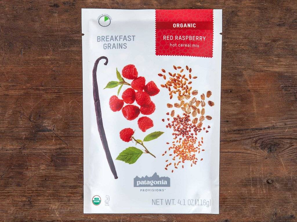 Patagonia Patagonia Provisions Organic Breakfast Grains Hot Cereal Mix