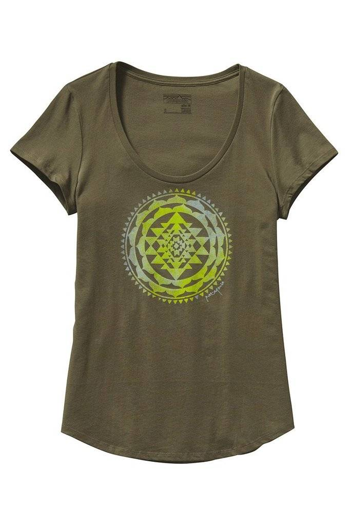 Patagonia Patagonia Sun Rose Cotton Scoop T-Shirt
