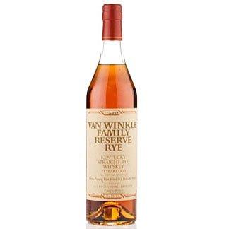 Old Rip Van Winkle's Family Reserve 13 Yr Rye 750ml