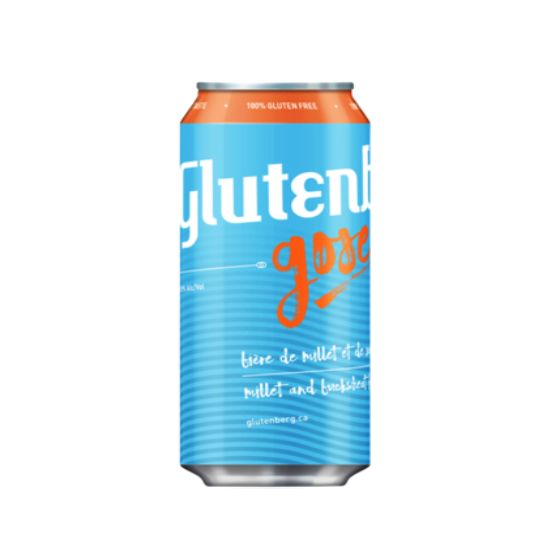 Glutenberg Gose Sour Beer 16oz 4Pk Cans