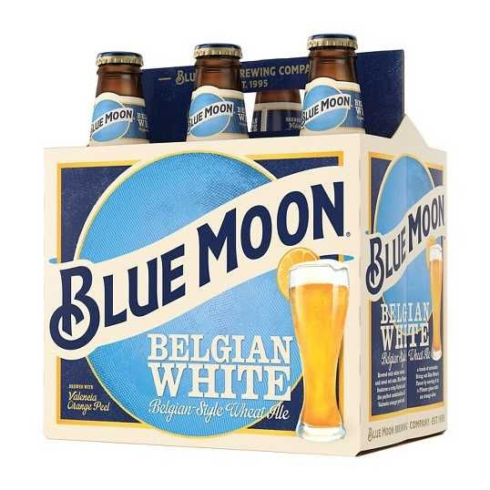 Blue Moon Belgian White 16oz 6Pk Alm Btl
