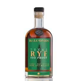 Balcones Texas Rye 100Pf. Pot Distilled 750ml