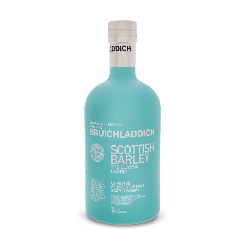 Bruichladdich The Classic Laddie Scotish Barley Unpeated Islay Single Malt Whisky 750ml