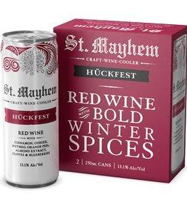 St. Mayhem Huckfest Red Wine & Bold Winter Spices 2/250ml Cans