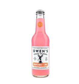 Owen's Craft Mixers Grapefruit Lime Non-Alcoholic 25.4oz