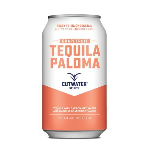 Cutwater Grapefruit Paloma Cocktail 12oz 4Pk Cans