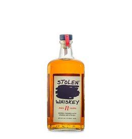Stolen Whiskey Aged 11 Yrs. Barrel Finished With Smoked Oak Staves 750ml