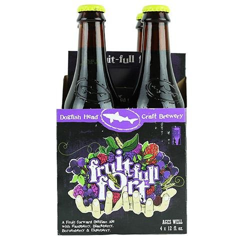 Dogfish Head Fruit-full Fort 12oz 4Pk Btl