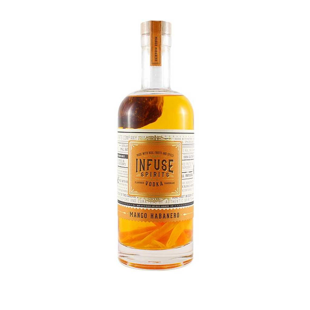 Infused Spirits Mango Habanero Vodka 750ml
