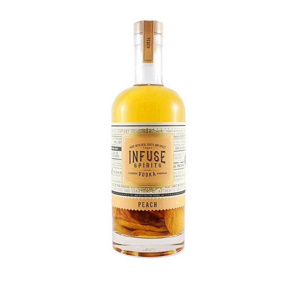 Infused Spirits Peach Vodka 750ml