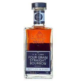 Laws Four Grain Straight Bourbon Bottled-In-Bond Batch# B-17-S 100Pf. 750ml