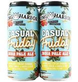 King Harbor Brewing Company Casual Friday IPA 16oz 4Pk Cans