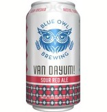 Blue Owl Brewing Van Dayum Sour Red Ale 12oz 4Pk Cans