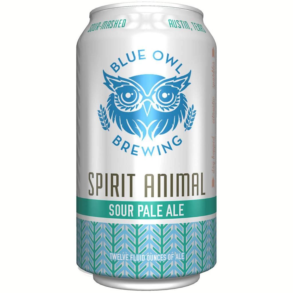 Blue Owl Brewing Spirit Animal Sour Pale Ale 12oz 4Pk Cans