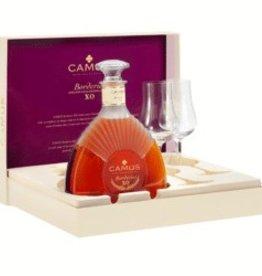Camus XO Cognac 2 Tulip Glasses Gift Set 750ml