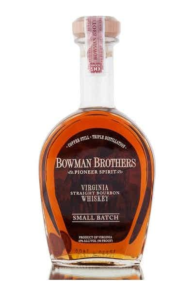 Bowman Brothers Pioneer Spirit Small Batch Copper Distilled Virginia Straight Bourbon Whiskey 90Pf. 750ml