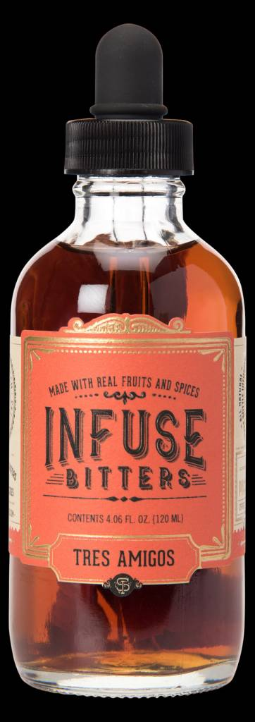 Infuse Bitters Tres Amigos Biotters 4.06oz