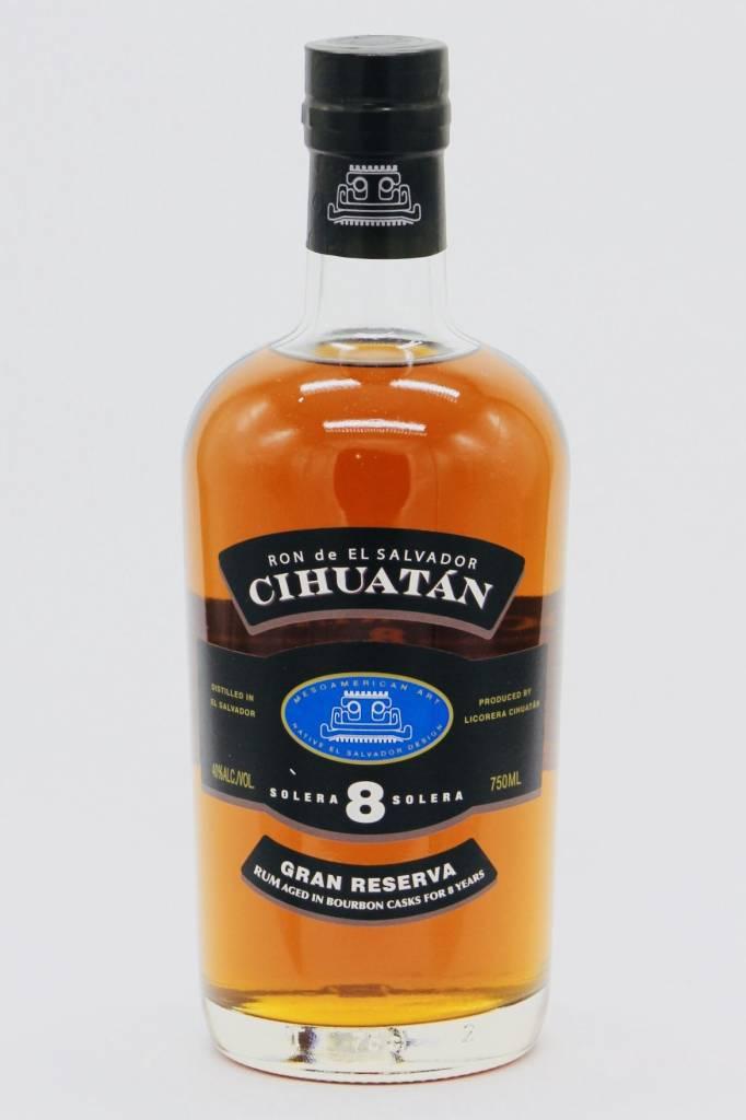 Cihuatan Ron De El Salvador 8Yrs. Gran Reserva 750ml