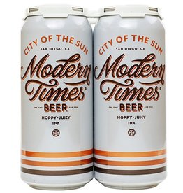 Modern Times City Of The Sun IPA 16oz 4Pk Cans