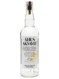 Ahus Akvavit Caraway Fennel Rosemary Lemon & Seville Orange Peels 750ml